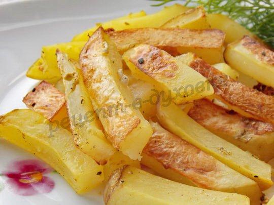 как запечь картофель, чтобы он получился, как жареный