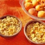 крамбл с абрикосами