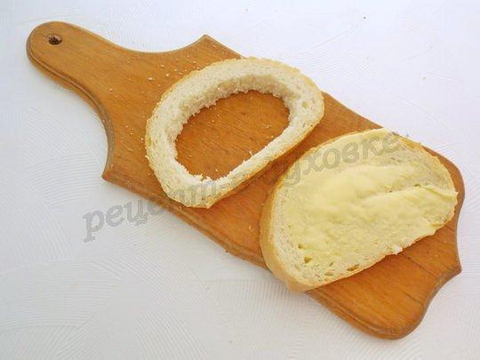 подготовим хлеб для бутербродов