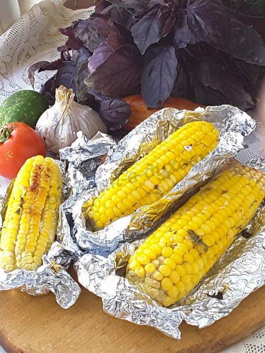 кукуруза в фольге