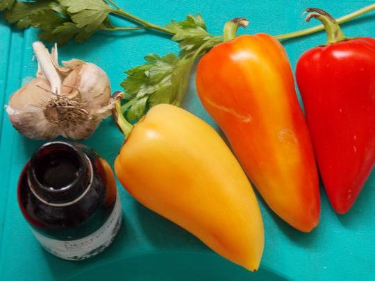 ингредиенты для запечённых перцев
