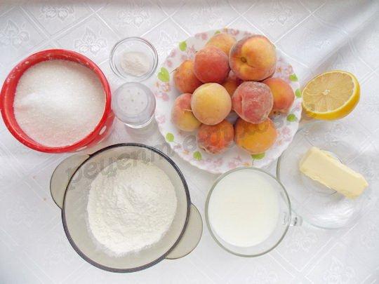 ингредиенты для коблера из персиков