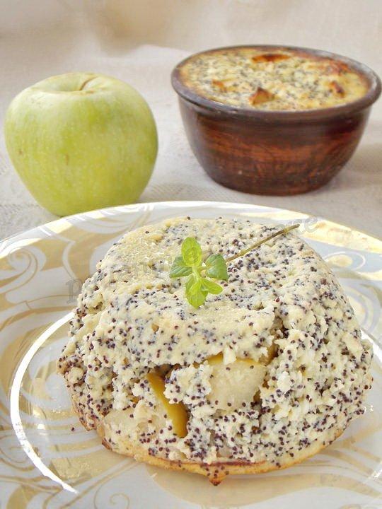 Рецепты запеканок из творога и яблок