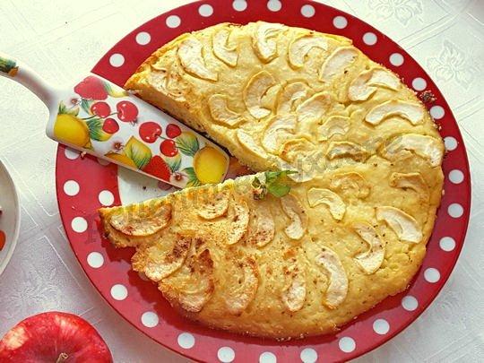 рецепт запеканки из творога с яблоками