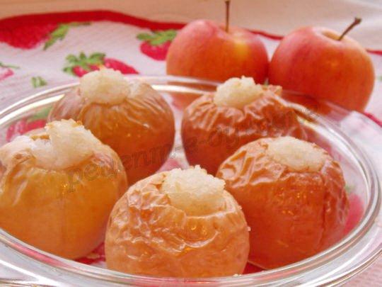 рецепт риса с яблоками