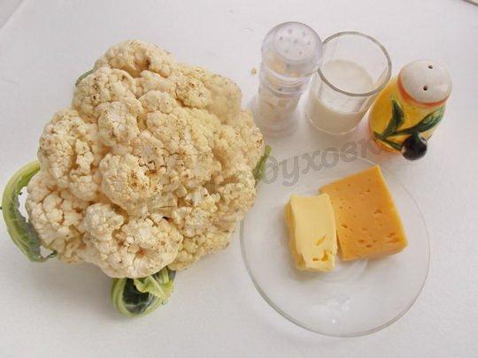 ингредиенты для цветной капусты в соусе