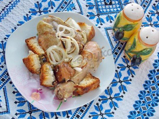 рецепт запечённой курицы
