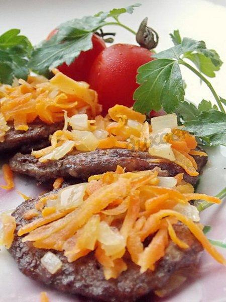 рецепт печёночных оладушков, запечённых в духовке