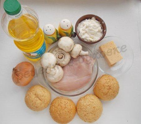 ингредиенты для жюльена