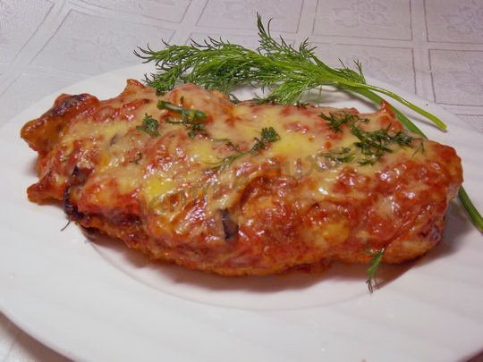 рецепт куриных грудок по-итальянски