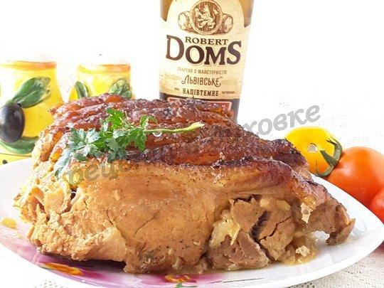 рецепт свинины в пиве