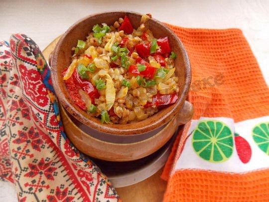 рецепт гречки в духовке