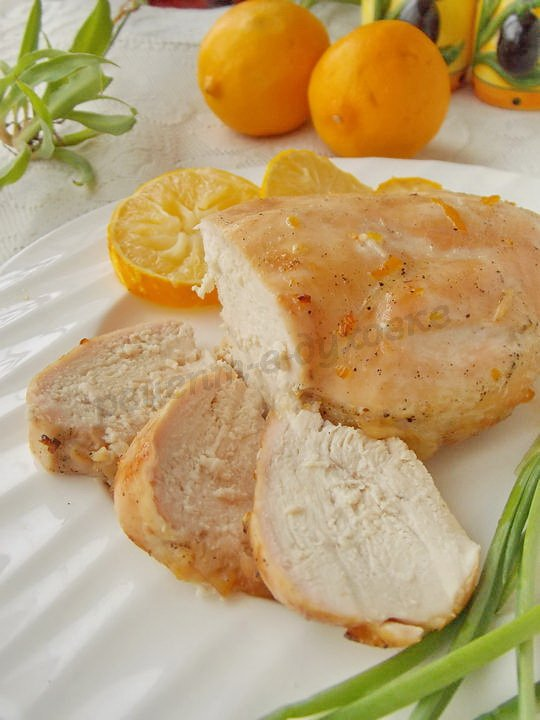 куриные грудки в медово-лимонном маринаде