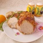 мясо с имбирём и лимоном