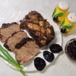 рецепт мяса с черносливной подливкой