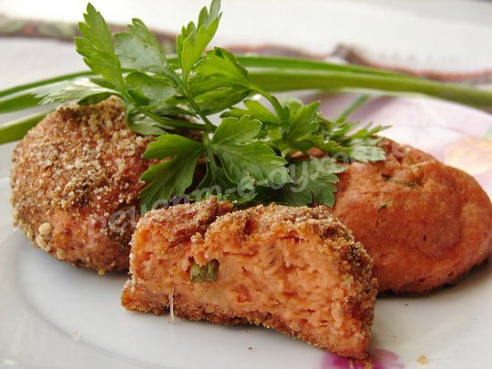 рыбные котлеты из лососевого фарша рецепт с фото