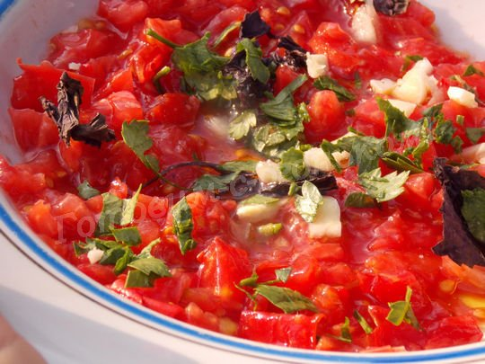 томатная смесь для брускетты