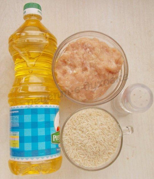 ингредиенты для тефтелек