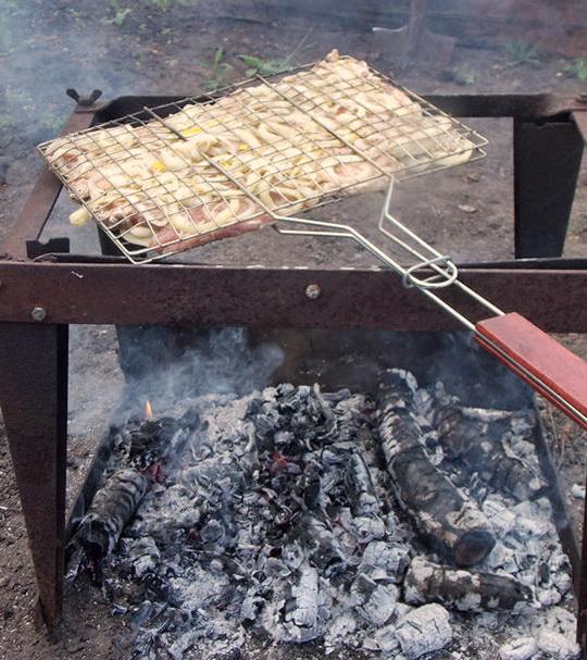рецепт барбекю на решётке