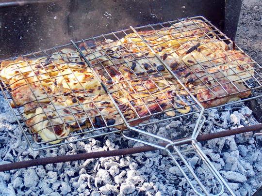 рецепт приготовления барбекю на костре