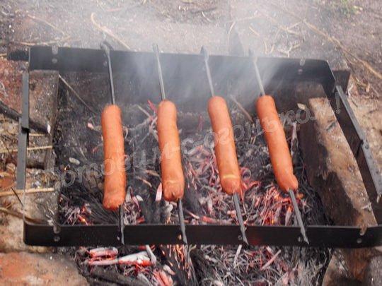 как приготовить колбаски гриль