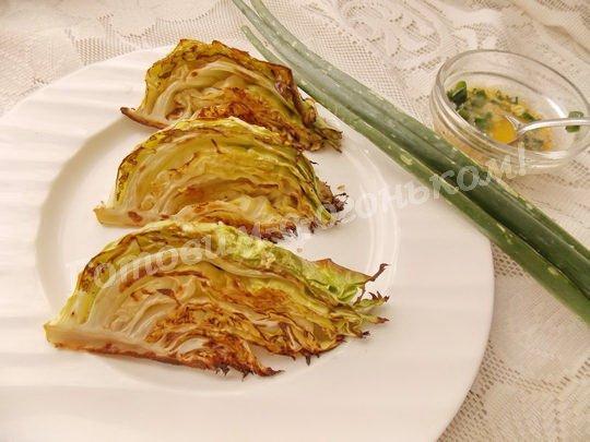 рецепт вкусной печёной капусты