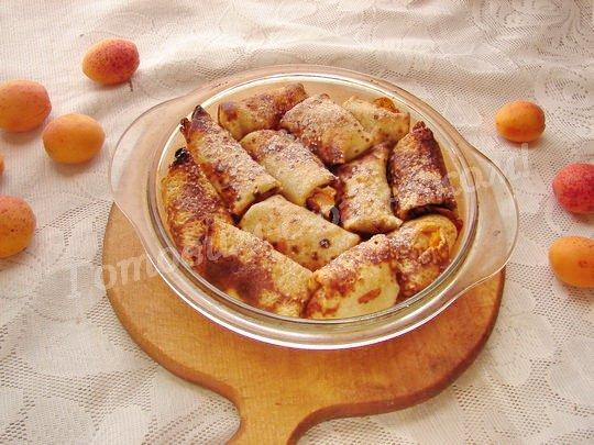 налистники с абрикосами