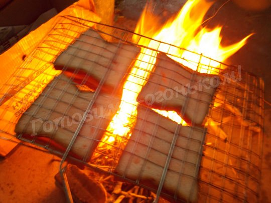 сэндвичи на огне