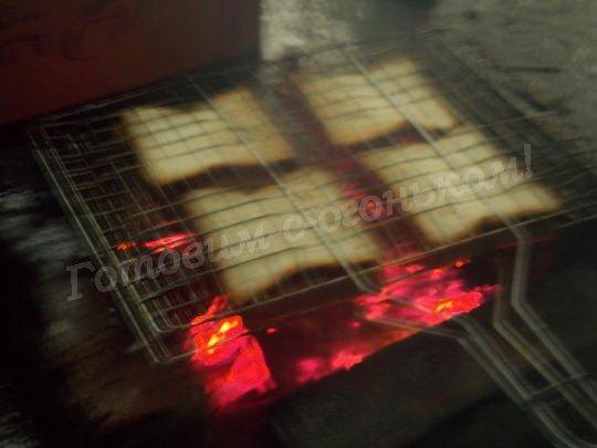 сэндвичи на углях