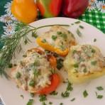 рецепт фаршированного перца в духовке