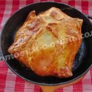 мясо, запечённое в слоёном тесте